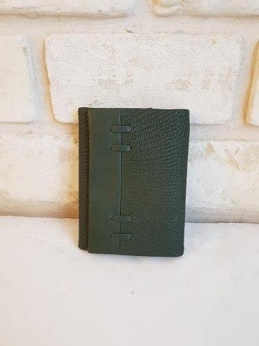 ארנק דמוי עור בינוני ירוק 4070