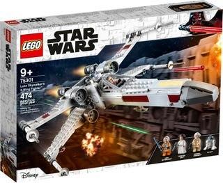 לגו Luke Skywalker's X-Wing Fighter 75301