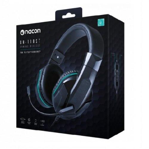 אוזניות למחשב ולקונוסולות Nacon GH-110 3.5mm aux