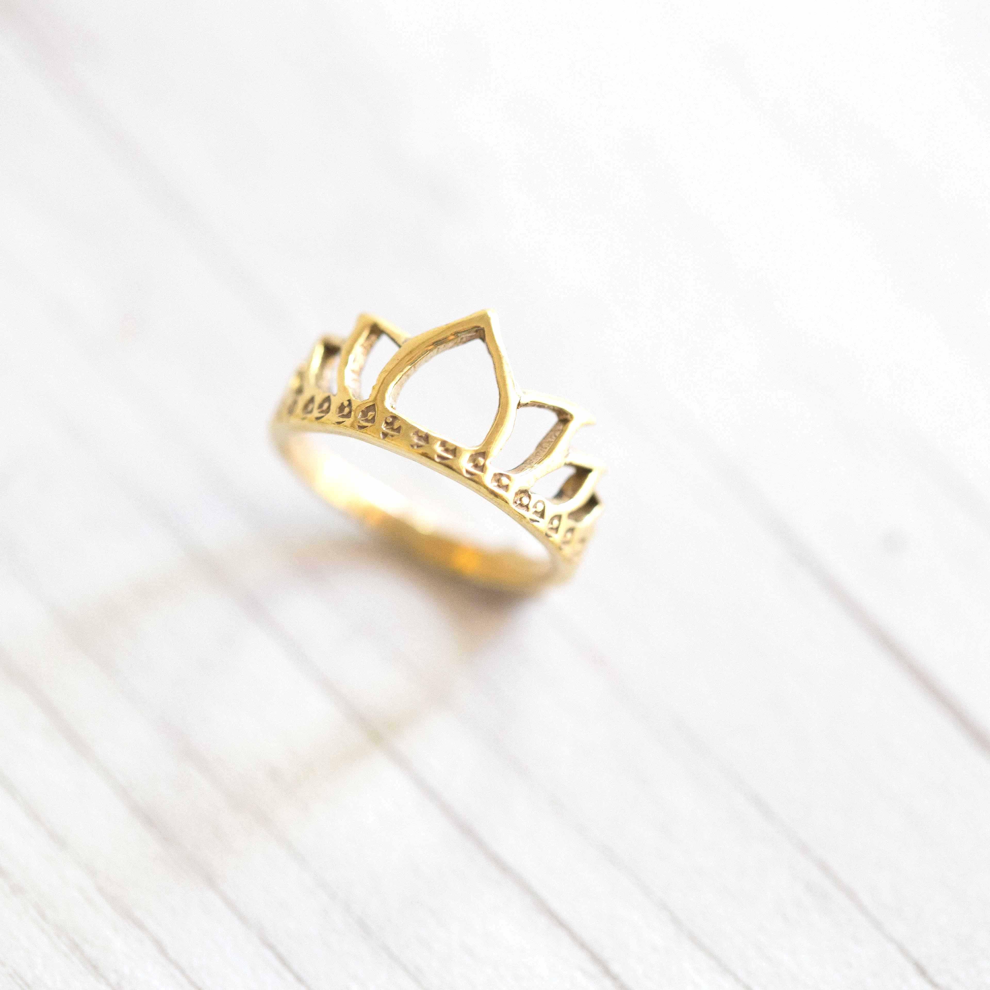 טבעת Tiara בראס