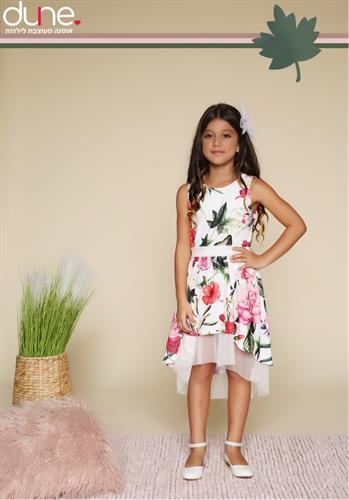 שמלת מסיבות פרחונית