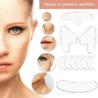 ערכת מדבקות טיפול בוטוקס להידוק ומיצוק הפנים, הצוואר והדקולטה