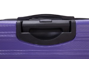 סט 3 מזוודות איכותיות  SWISS EQUIPE  - צבע סגול