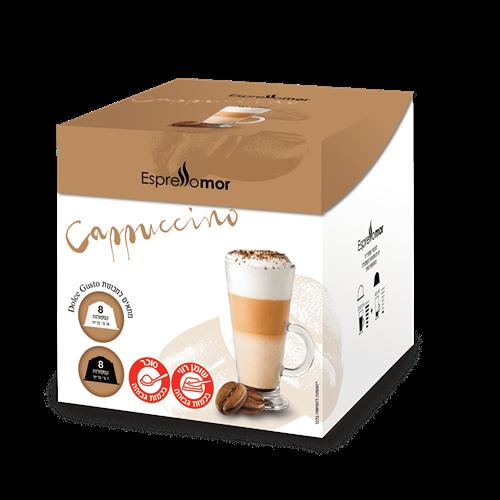 96 קפסולות Cappuccino -קפוצ'ינו