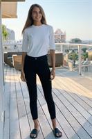 ג'ינס סקיני סאם גזור