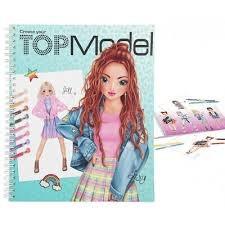 טופ מודל חוברת עבודה  בגדים TOP MODEL