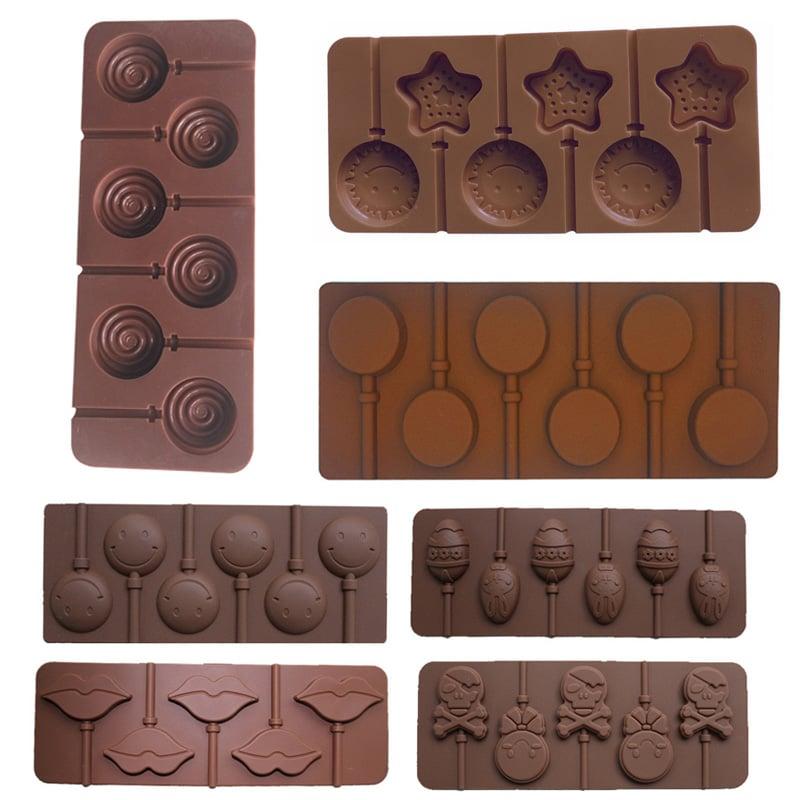 תבנית סיליקון להכנת סוכריית שוקולד וג'לי