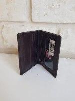 ארנק סוויס קטן סגירת מגנט שחור 20