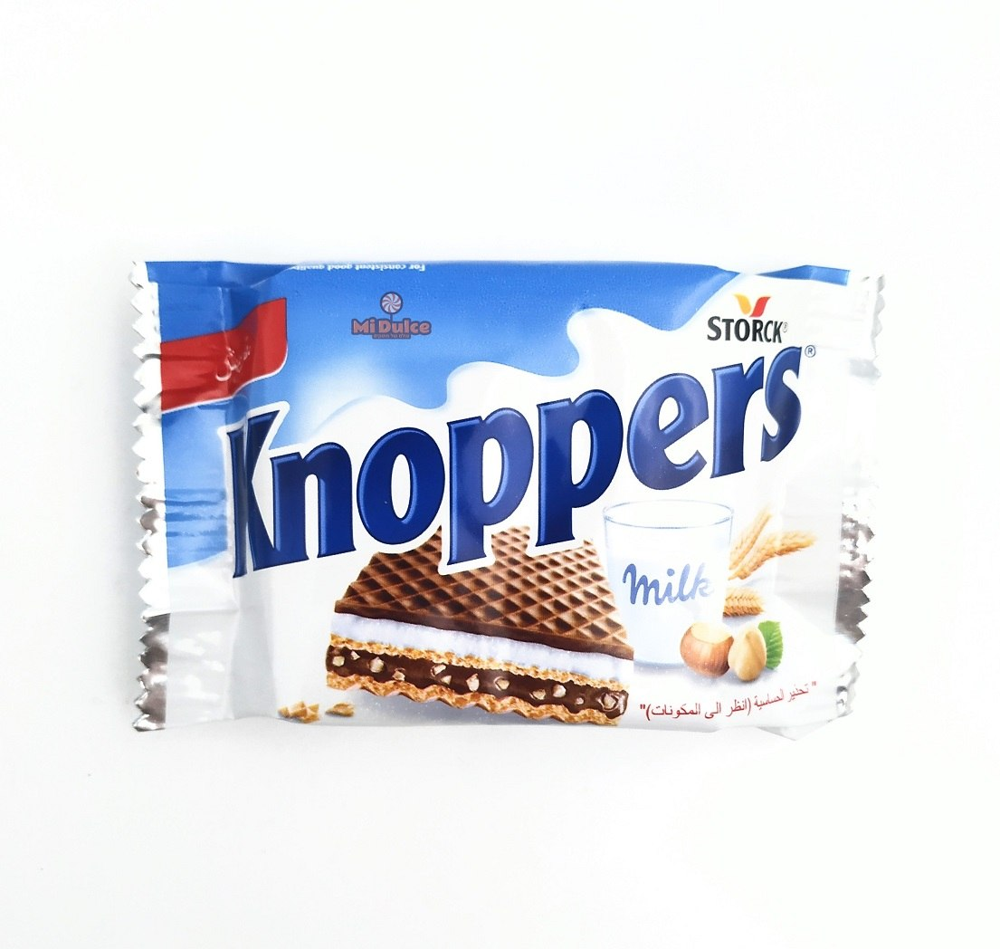 Knoppers waffer