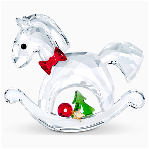 קריסטל Swarovski  ROCKING HORSE - HAPPY HOLIDAYS