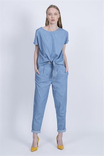 חליפת מליסה ג'ינס נקודות