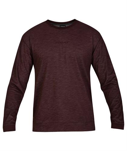 HURLEY M DRI-FIT BRIDGE L/S MRN