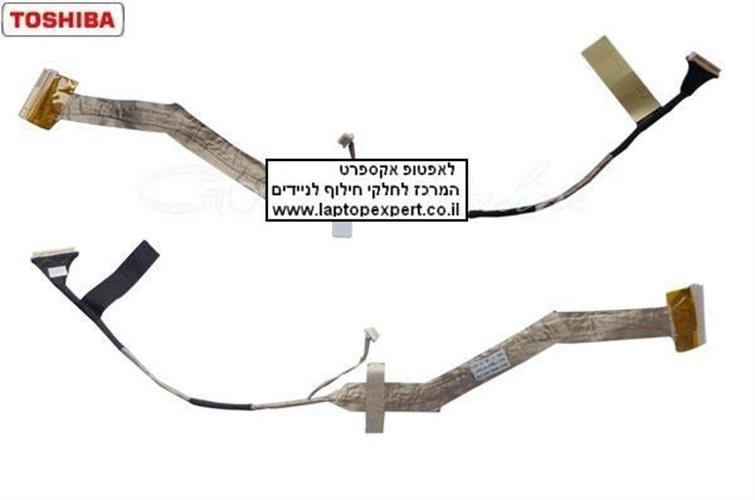 """כבל מסך למחשב נייד טושיבה Toshiba Satellite A300 A305 A305D 15.4"""" LCD Cable 6017B0147801"""