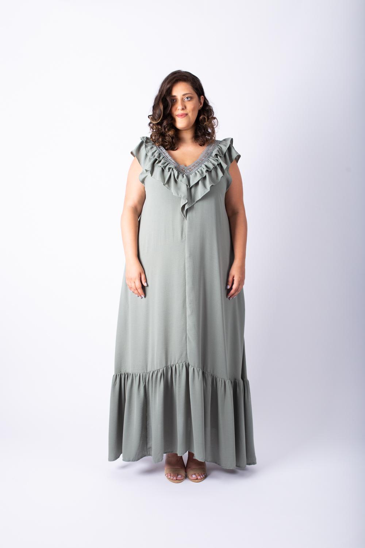 שמלת אגם ירוקה