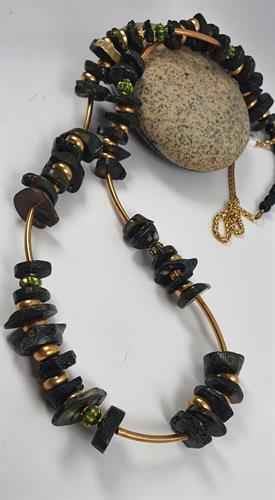 שרשרת DOART - לבה שחור זהב