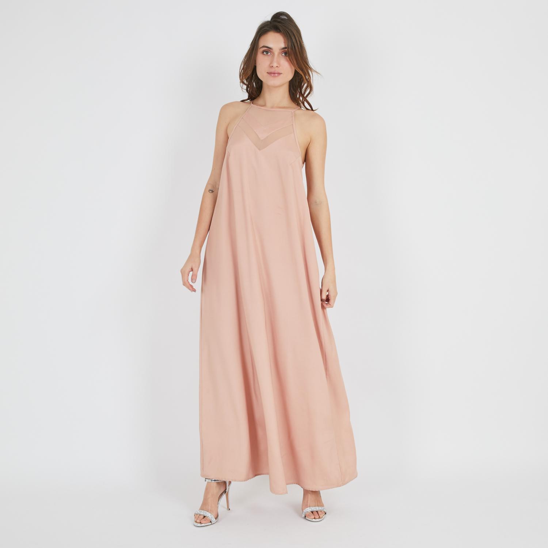 שמלת סנדי ורודה