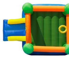 מתקן המפלצות כולל מגלשה - happy hop - קפיץ קפוץ