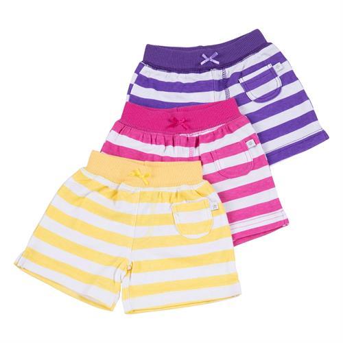 שלישיית מכנסיים 4415 סגול - ורוד פוקסיה - צהוב