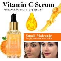 סרום ויטמין C וחומצה היאלורונית לטיפול בפיגמנטציה והזדקנות העור