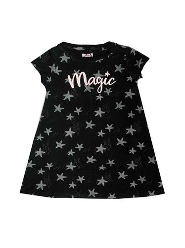שמלת גן שחורה כוכבים  MINENE