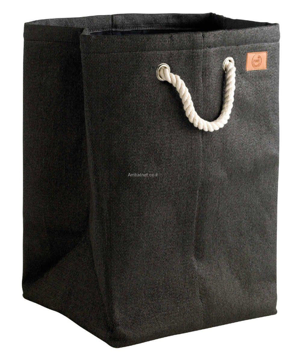 סל כביסה Nylon שחור