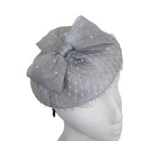 כובע כסוף אלגנטי לנשים