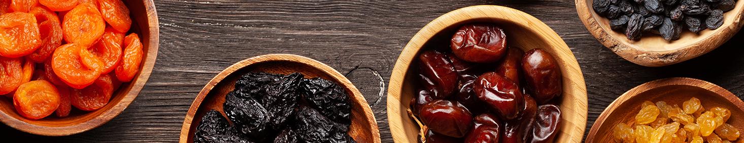 אגוזים טבעיים ופירות יבשים - טעים בריא