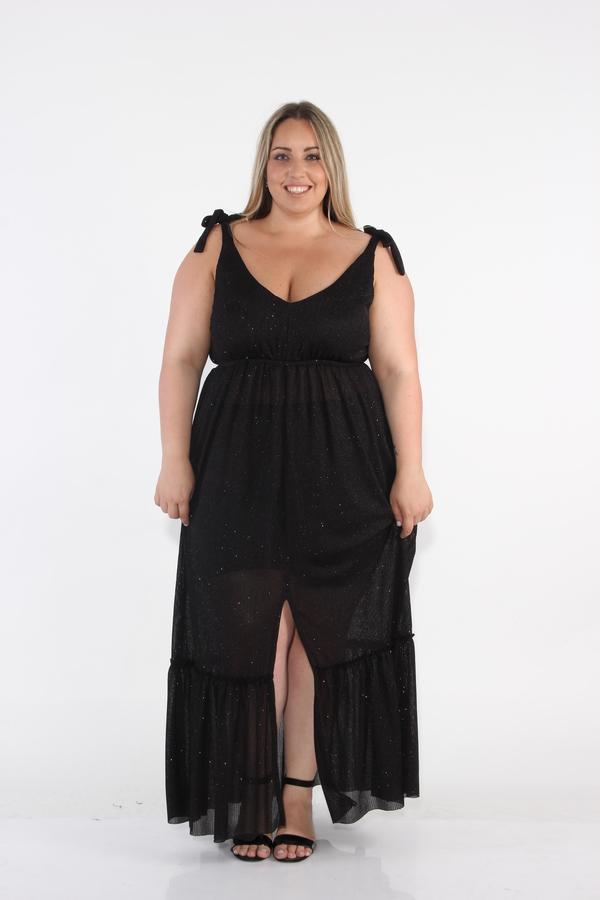 שמלת בובי שחור