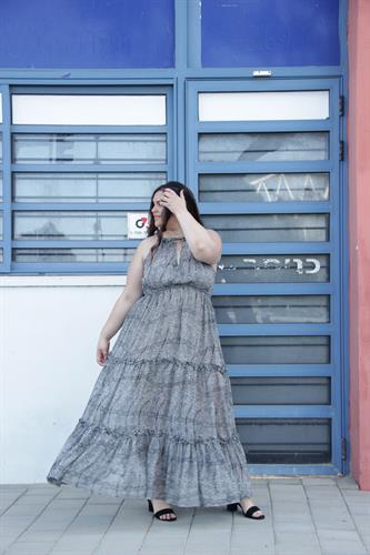 שמלת לילי דלמטי
