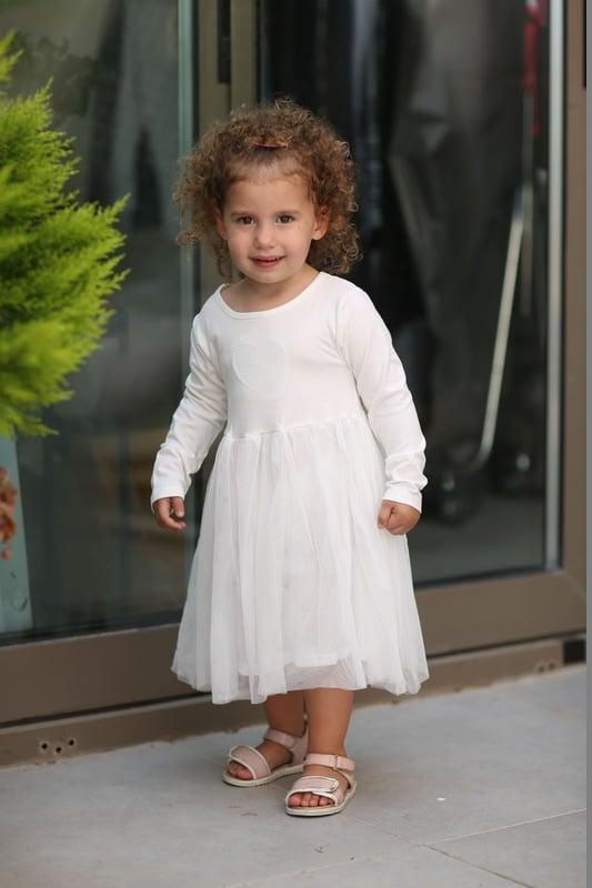 שמלת לייקרה שרוול ארוך