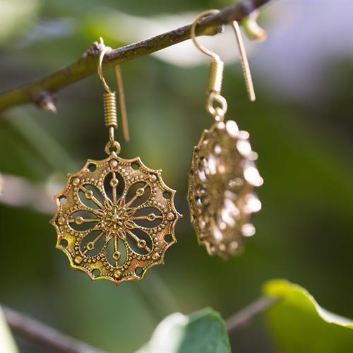 מנדלת drop flower בראס
