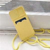 כיסוי לאייפון עם רצועה וארנק לכרטיסים