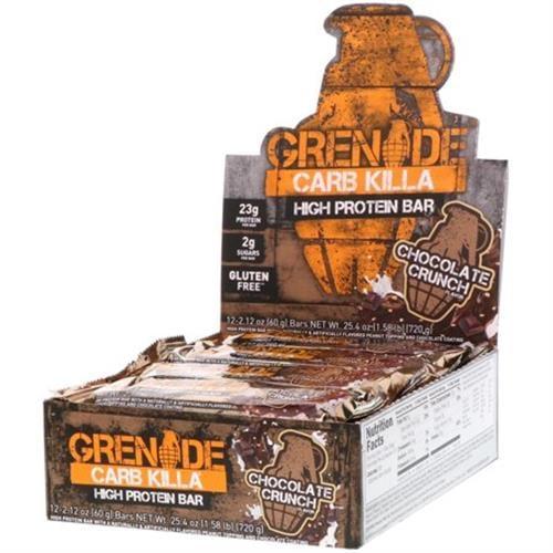 Grenade Carb|חטיפי חלבון קילה קארב בטעם קרמל 12 יח