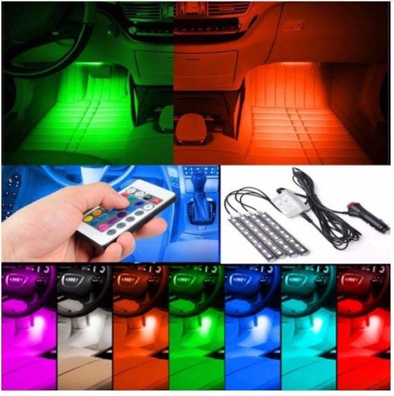 אורות לד אווירה ברכב