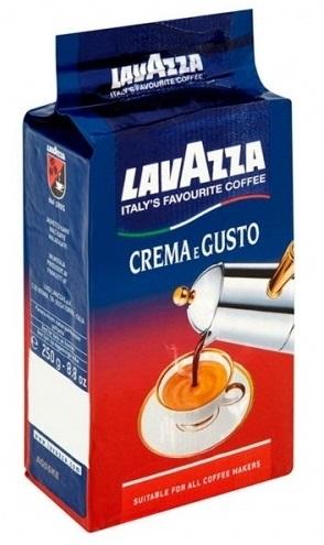 250 גרם קפה טחון lavazza Crema e Gusto Classico