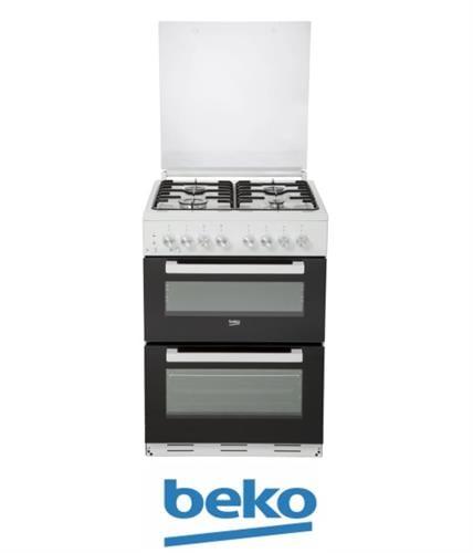 beko תנור משולב דו תאי מהדרין דגם KFDM62120DXDSL