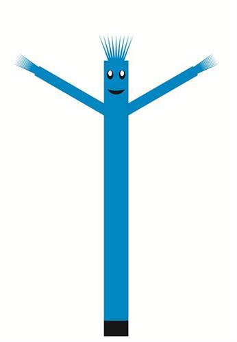 בובת דנסר רוקדת בגובה 6 מטר - צבע תכלת
