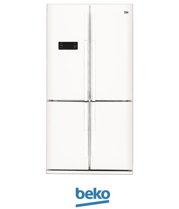 beko מקרר 4 דלתות דגם: 114611W לבן