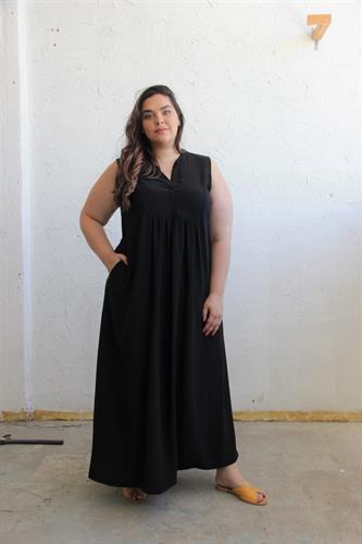 שמלת ג'ורדי שחורה