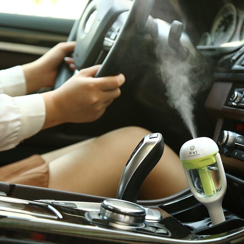 מפיץ ריח חשמלי לרכב באמצעות שמן
