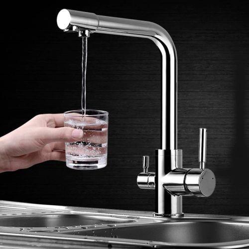 ברז מטבח משולב טיהור מים