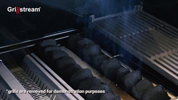 גריל גז משולב פחמים GS- Gourmet 4B +כירה