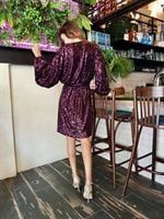שמלת יסמין סגול