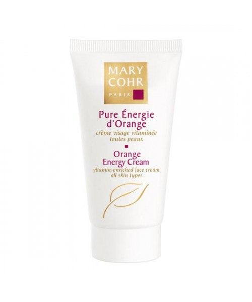 """מארי קור- """"פיור אנרג'י דוראנג'"""" קרם אנרגית תפוזים Mary Cohr- Orange Energy Cream"""