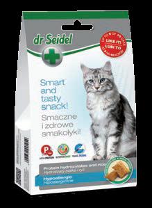 חטיף היפואלרגני– מזון רך משלים לחתולים