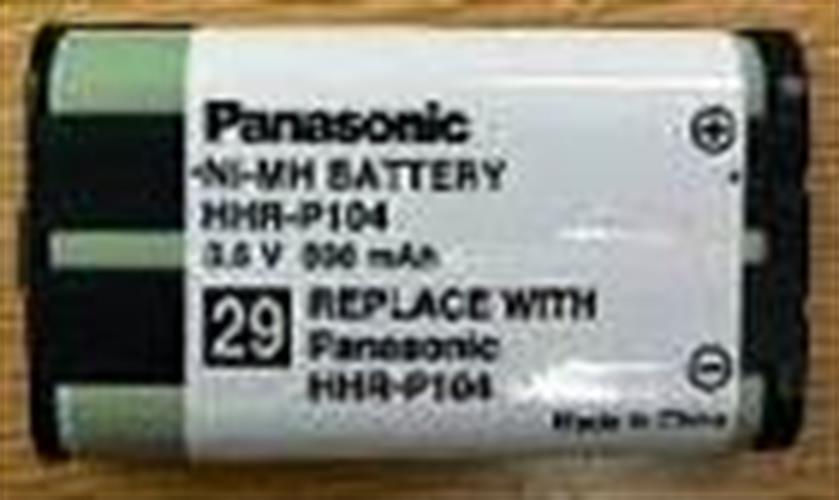 סוללה לאלחוטי תואם Panasonic HHRP104