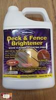 מבהיר ומנקה עץ Deck & Fence Brigtener