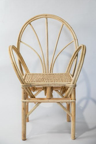 כסא מרוקאי  מעץ טבעי