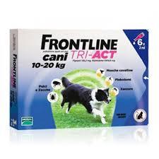 פרונטליין טרי-אקט 10-20 ק״ג 3 אמפולות לכלב