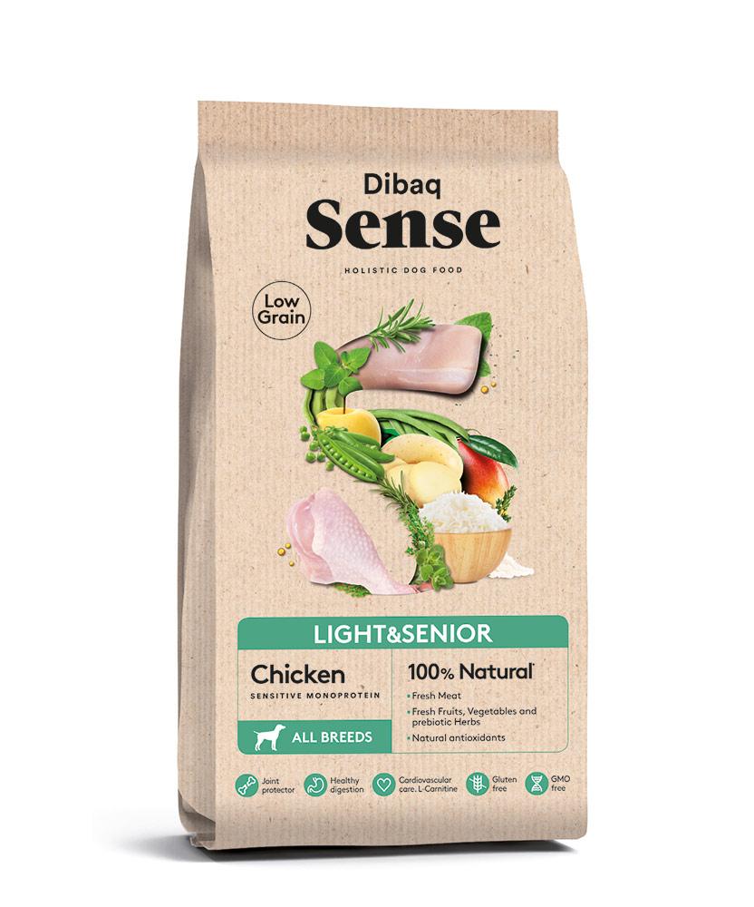 סנס מופחת דגנים למבוגרים/ דיאטטי בשר עוף 12 קילו